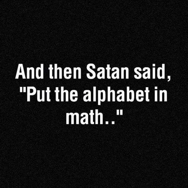 Funny Math Quote 3 Picture Quote #1