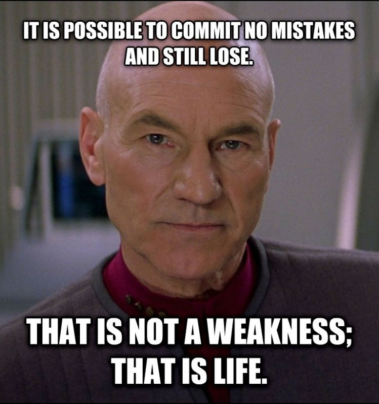Star Trek Quote Picard 4 Picture Quote #1