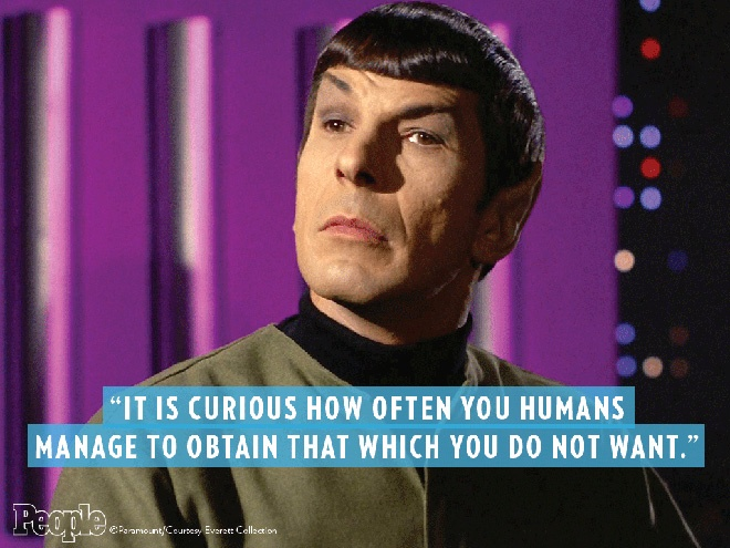 Great Star Trek Quote Spock 1 Picture Quote #1