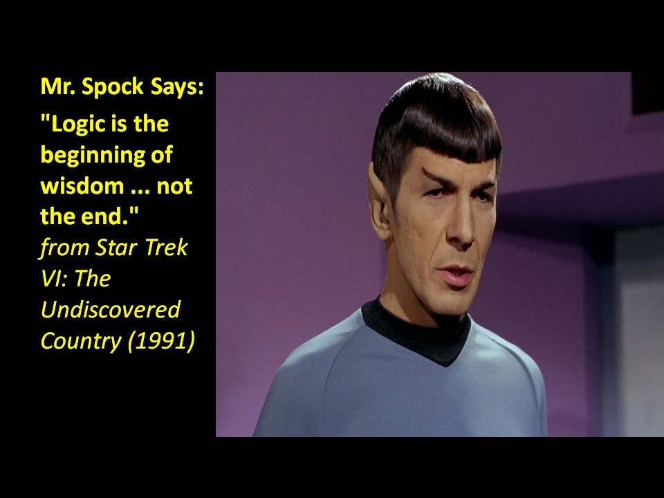 Star Trek Spock Quote 1 Picture Quote #1