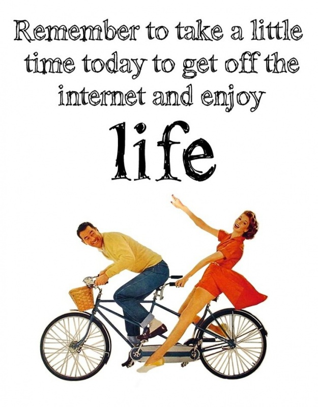 Enjoy Life Quote 1 Picture Quote #1