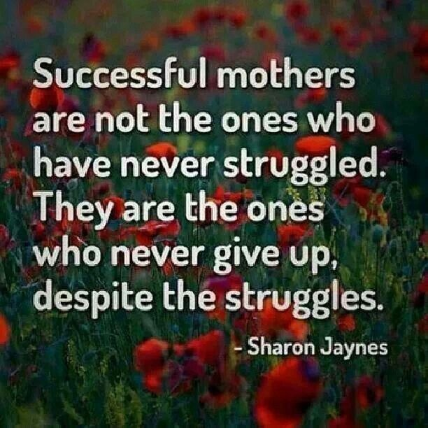 Single Mom Quote 9 Picture Quote #1