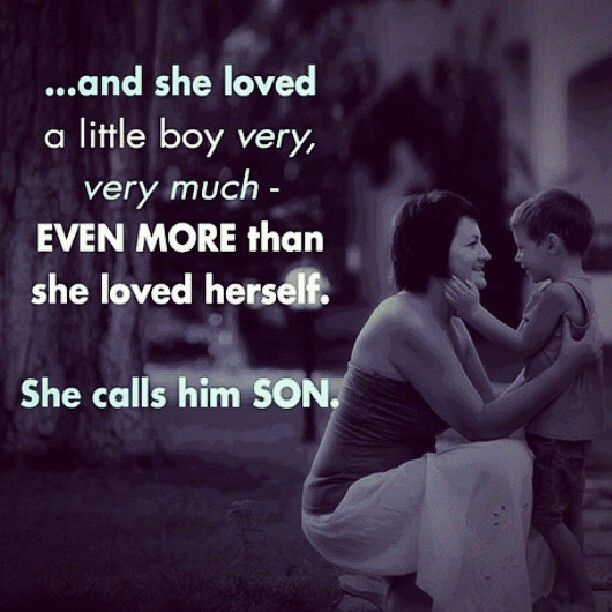 Mother And Son Quote 11 Picture Quote #1