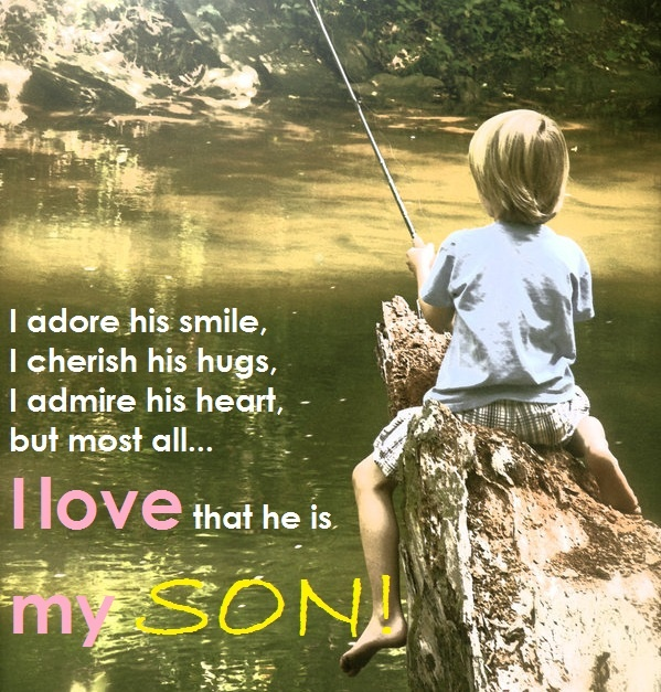 Mother And Son Quote 12 Picture Quote #1