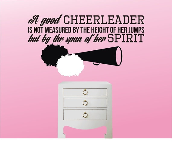 Inspirational Cheerleading Quote 2 Picture Quote #1