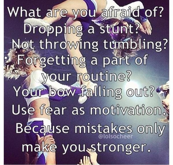 Cheerleading Quote 4 Picture Quote #1