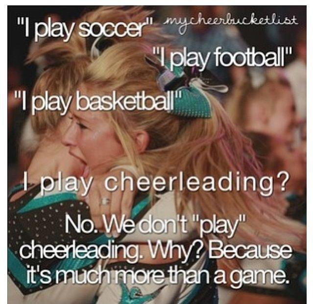 Cheerleading Quote 5 Picture Quote #1