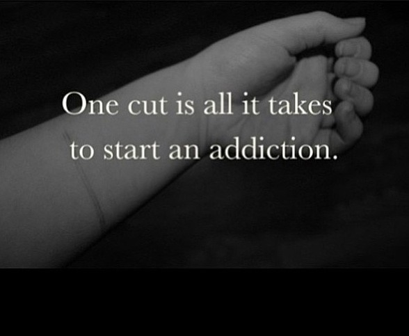 Self Harm Quotes Delectable Stopping Self Harm Cutting Quote  Quote Number 597145  Picture