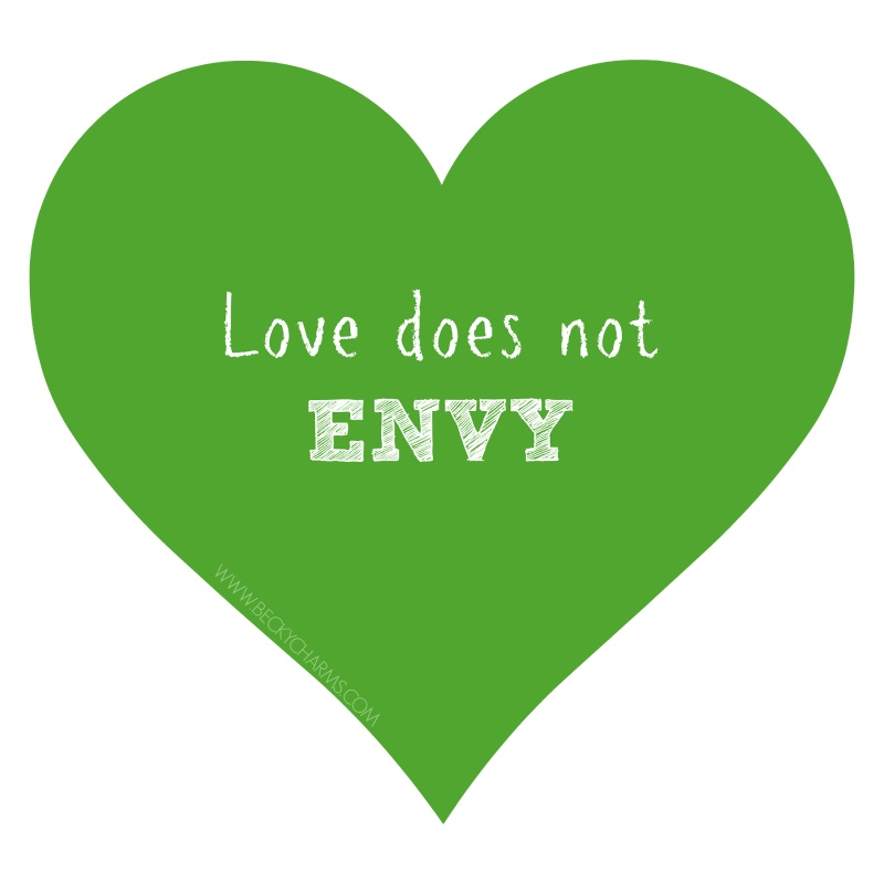 Green Envy Quote 1 Picture Quote #1
