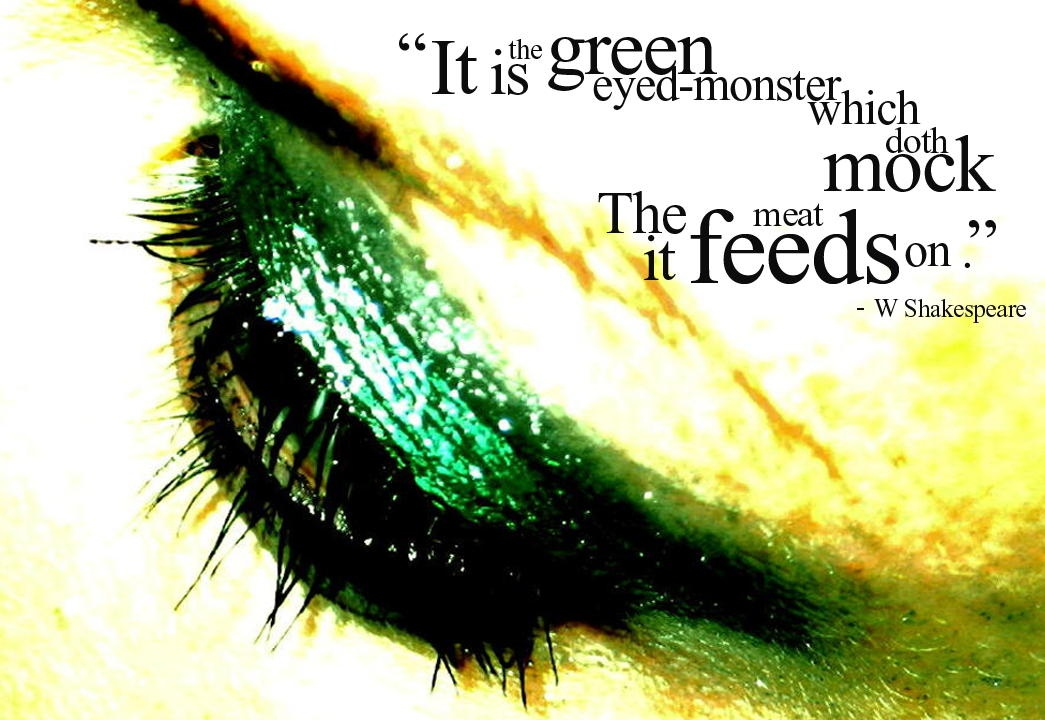 Green Envy Quote 3 Picture Quote #1