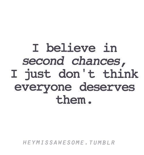 Second Chance Quote About Relationships 1 Picture Quote #1