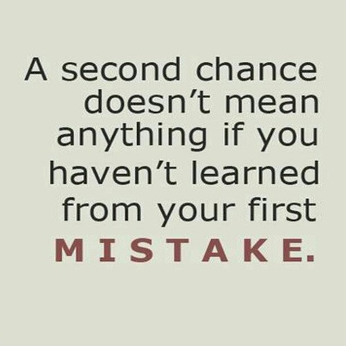 Second Chance Quote 1 Picture Quote #1