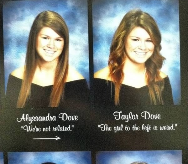 Twin Yearbook Quote 1 Picture Quote #1