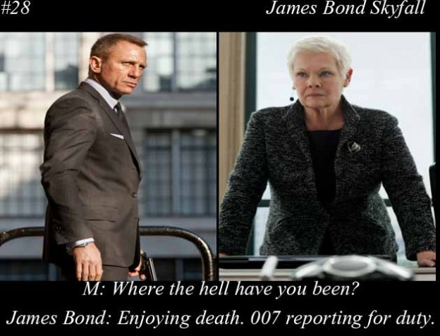 Skyfall James Bond Quote 1 Picture Quote #1