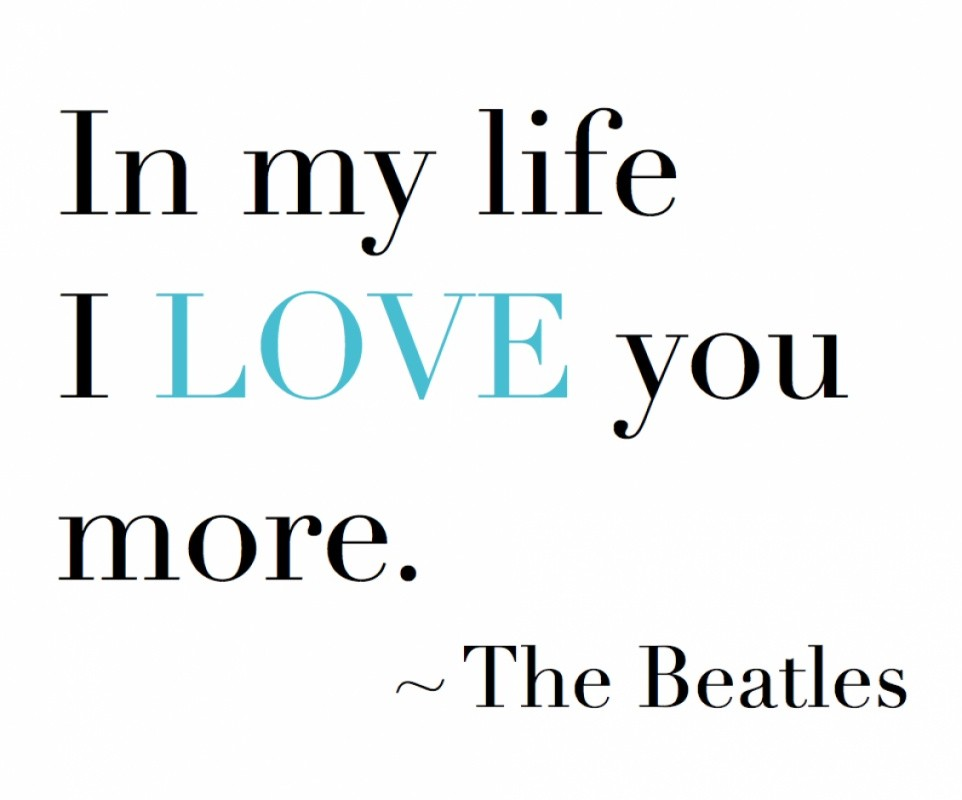 Beatles Quote About Love 1 Picture Quote #1