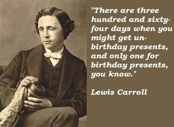 Lewis Carroll Quote 2 Picture Quote #1