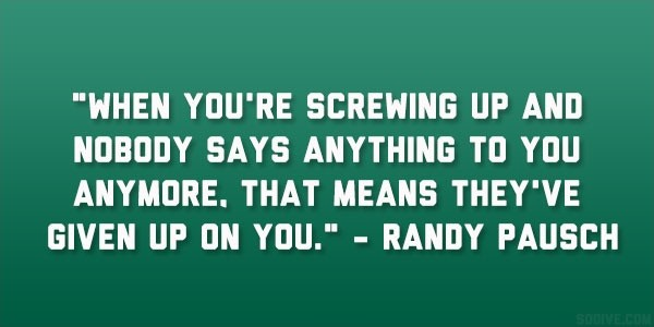 Randy Pausch Quote 6 Picture Quote #1