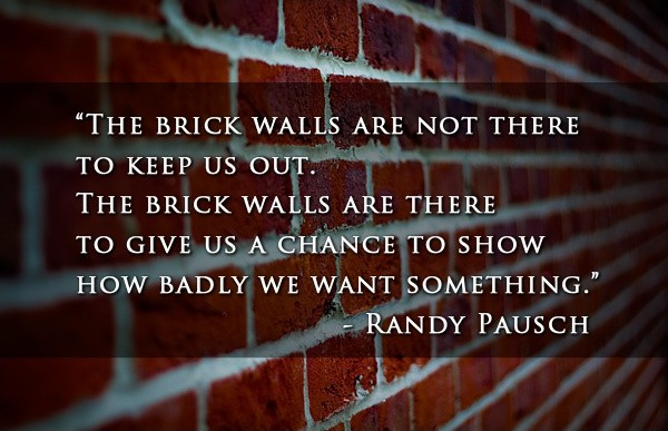 Randy Pausch Quote 9 Picture Quote #1