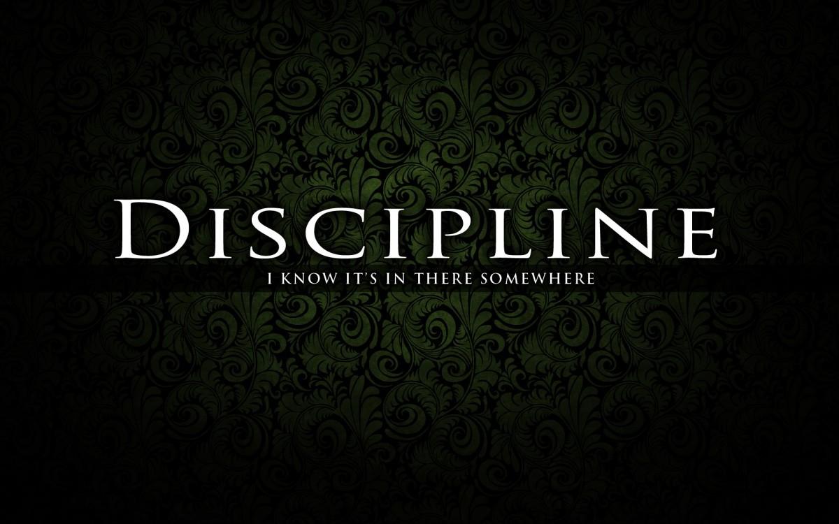 Discipline Quote 2 Picture Quote #1