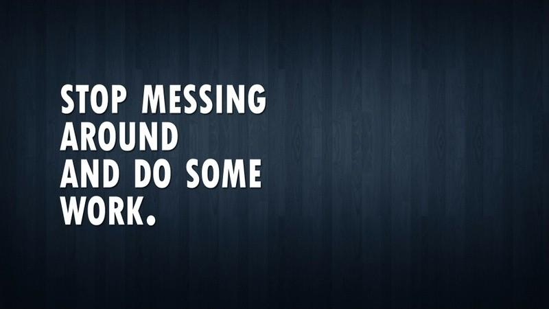 Work Discipline Quote 2 Picture Quote #1