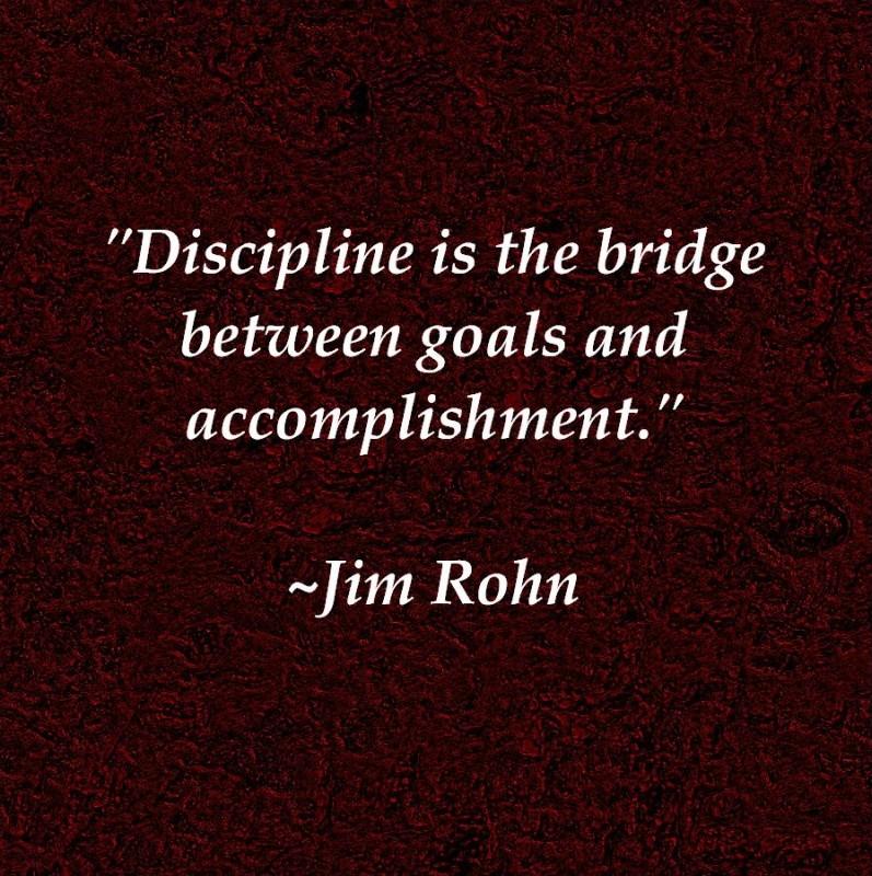 Discipline Quote 5 Picture Quote #1