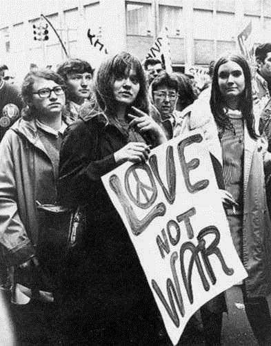 1960s Hippie Quote 2 Picture Quote #1
