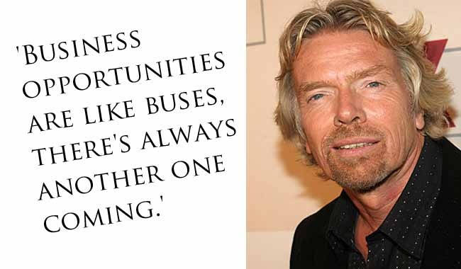 Business Opportunity Quote 1 Picture Quote #1