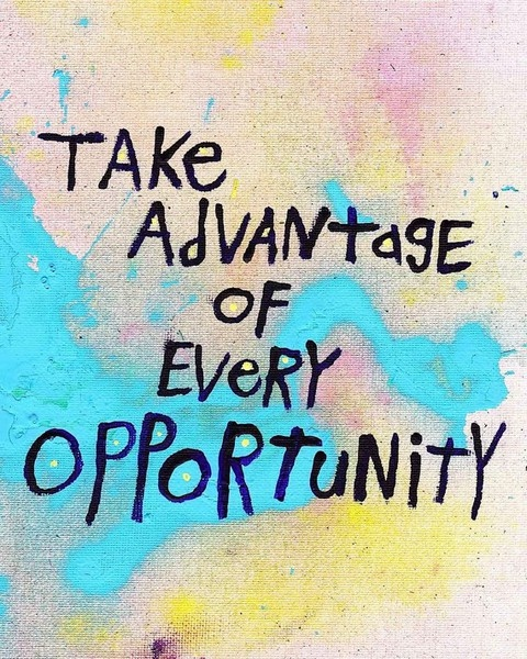 Good Opportunity Quote 1 Picture Quote #1