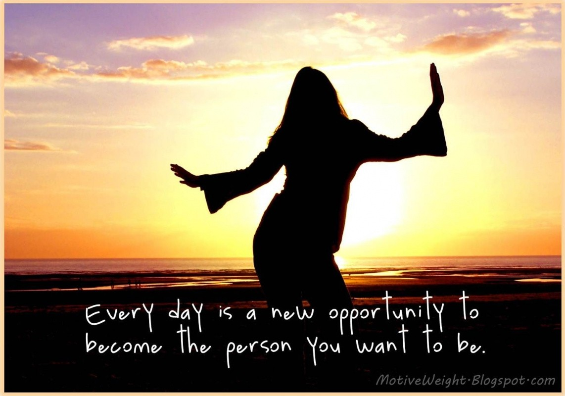 Everyday Is An Opportunity Quote 1 Picture Quote #1