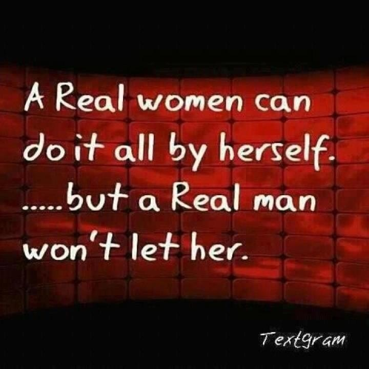 Real Men Quote 1 Picture Quote #1
