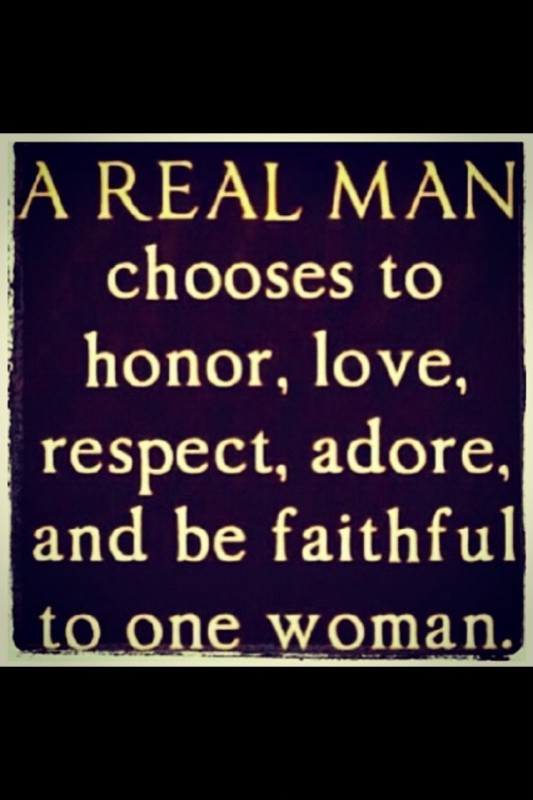 Real Men Quote 2 Picture Quote #1