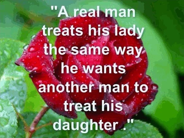 Dating Real Men Quote 1 Picture Quote #1