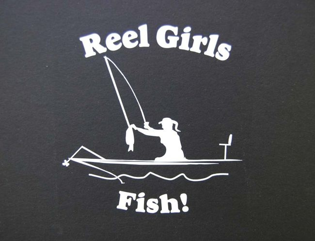 Fishing Quote For Girls 1 Picture Quote #1