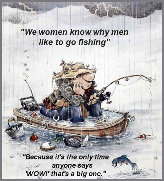 Humorous Fishing Quote 1 Picture Quote #1