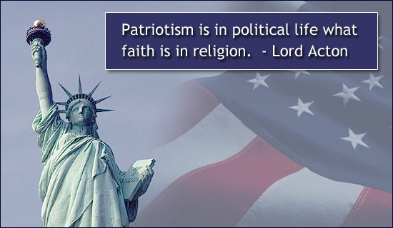 Patriotic Quote 2 Picture Quote #1