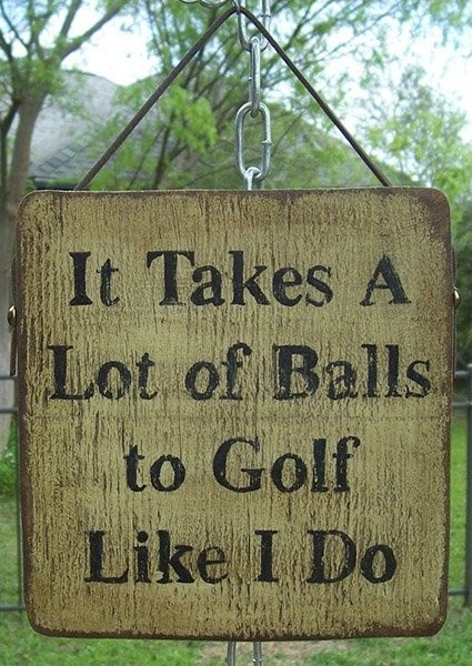 Golf Quote 2 Picture Quote #1