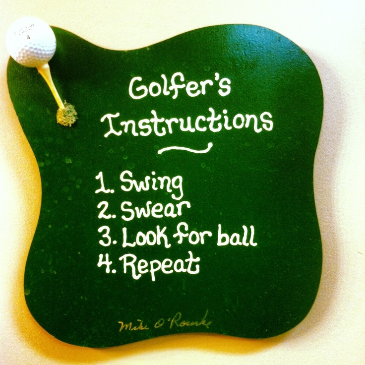 Funny Golf Quote 1 Picture Quote #1