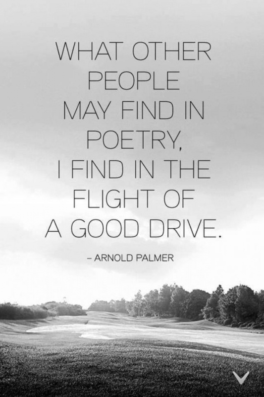 Arnold Palmer Golf Quote 1 Picture Quote #1