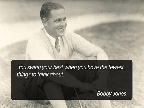 Bobby Jones Golf Quote 1 Picture Quote #1