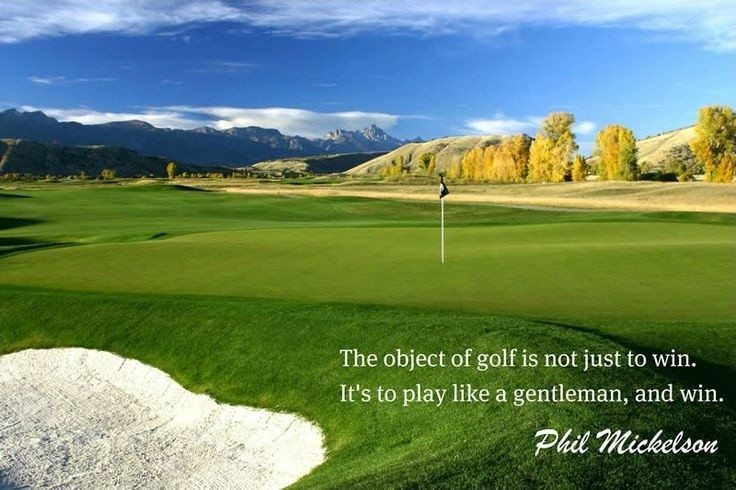 Golf Quote Inspirational 1 Picture Quote #1