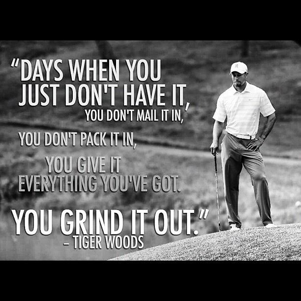 Tiger Woods Golf Quote 3 Picture Quote #1