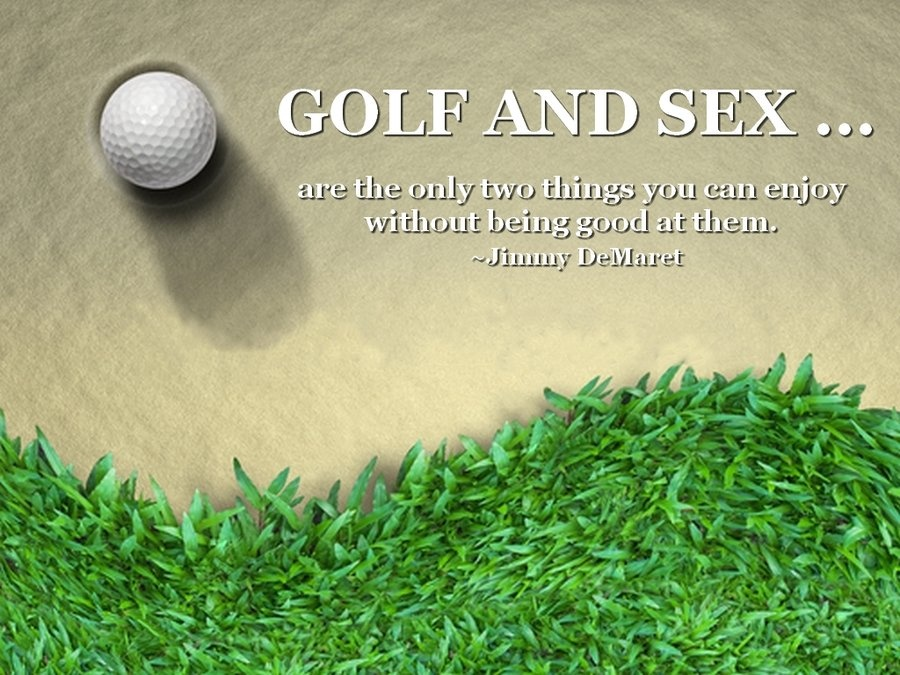 Quotes About Golf Pleasing Golf Quote  Quote Number 598183  Picture Quotes
