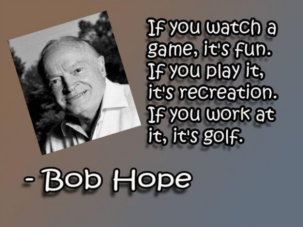 Golf Quote 11 Picture Quote #1