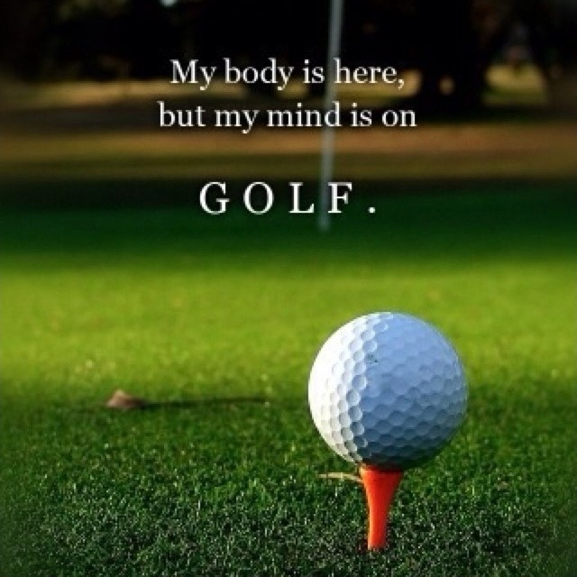 Golf Quote 20 Picture Quote #1