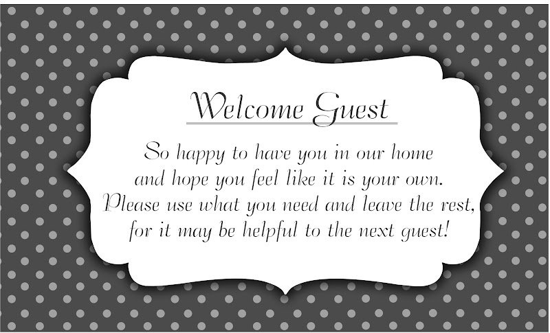 Welcome Quote For Guests 1 Picture Quote #1