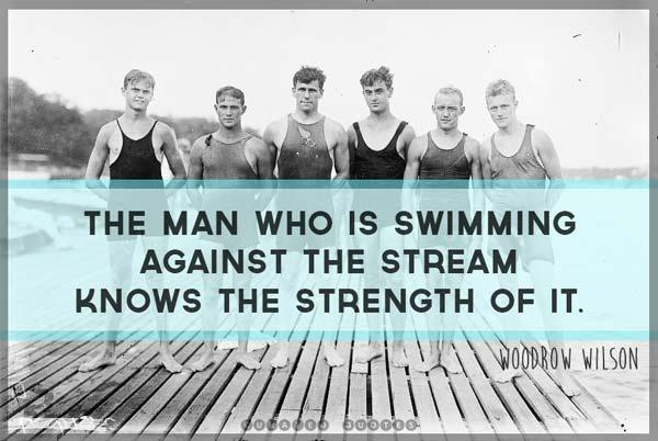 Swimming Quote 4 Picture Quote #1