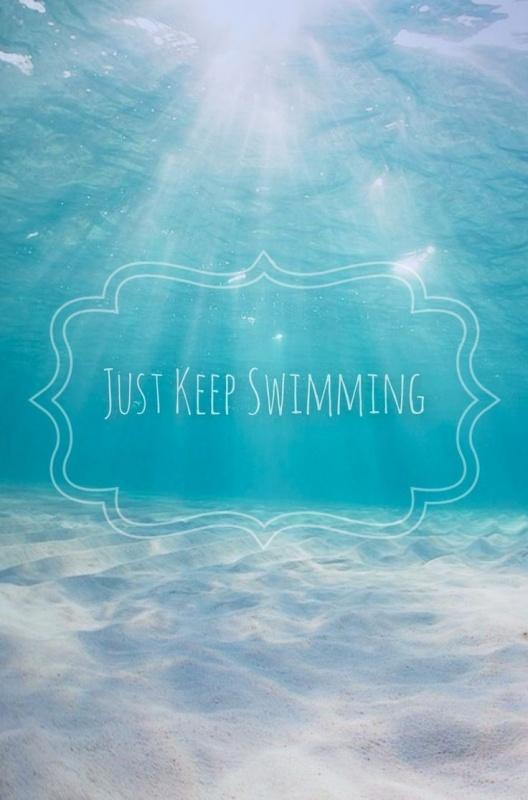 Swimming Quote 5 Picture Quote #1