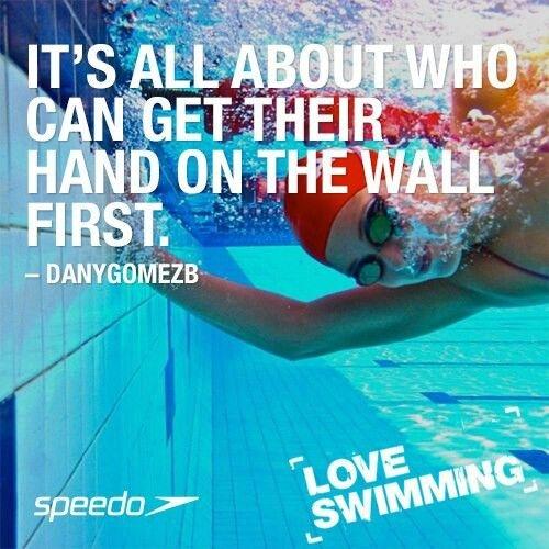 Swimming Quote 8 Picture Quote #1