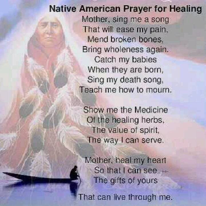 Native American Healing Quote 1 Picture Quote #1