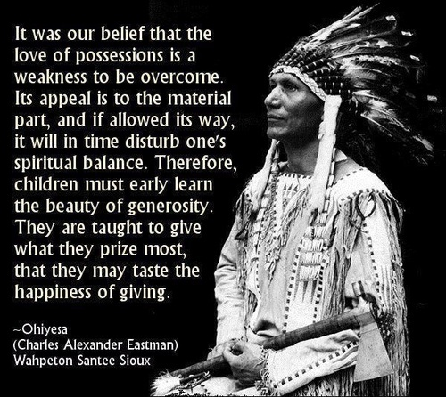 Famous Native American Quote 2 Picture Quote #1